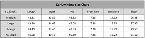 Karlywindow Mens Joggers Sweatpants Stretch Casual Cotton Cargo Pants Workout Sports Track Pants Long Trousers 4