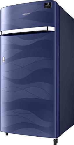31jaXvE%2BZ2L Samsung 198 L 4 Star Inverter Direct-Cool Single Door Refrigerator (RR21T2G2XUV/HL, Blue Wave)