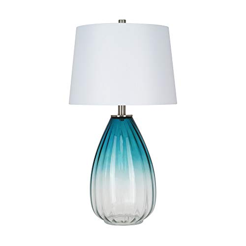Catalina-Lighting-22092-001-Contemporary-Ribbed-Ombre-Swirl-Glass-Table-Lamp-with-Brushed-Nickel-Accents-265-Blue