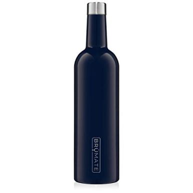 BruMate-Winesulator-25-Oz-Triple-Walled-Insulated-Wine-Canteen-Made-Of-Stainless-Steel-24-hour-Temperature-Retention-Shatterproof-Comes-With-Matching-Silicone-Funnel-Navy-Blue