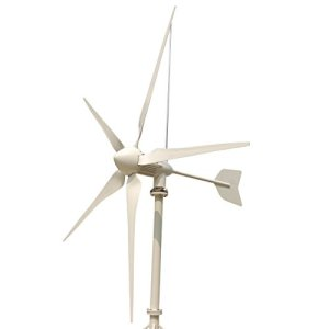 Tumo-Int 3000 Watts 5 Blades Wind Turbine Generator with Hybrid Controller