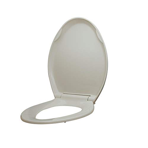 Glacier Bay Elongated Slow Closed Front Toilet Seat with Quick Release Hinges