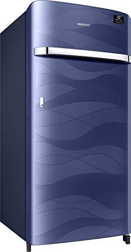 31kD42tX95L Samsung 198 L 4 Star Inverter Direct-Cool Single Door Refrigerator (RR21T2G2XUV/HL, Blue Wave)