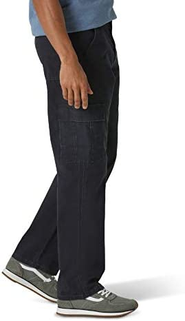 Wrangler Men's Classic Twill Relaxed Fit Cargo Pant 3