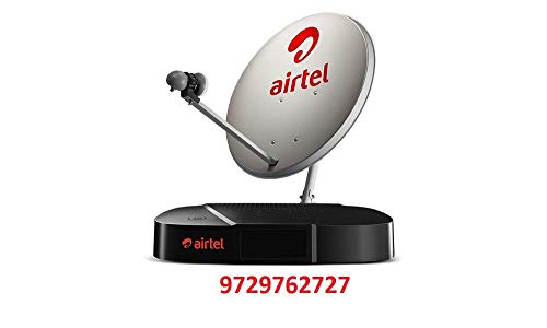 Airtel Digital TV HD Set Top Box with 1 Month Mega HD Pack 93
