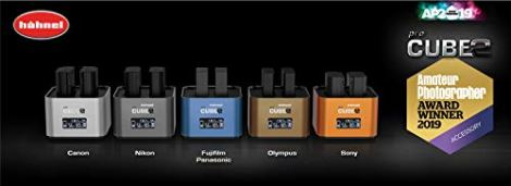 Hahnel-PROCUBE2-Professional-Twin-Battery-Charger-for-Olympus-DSLR-Cameras