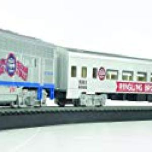 Bachmann Trains – Ringling Bros. and Barnum & Bailey The Greatest Show On Earth Special Ready To Run Electric Train Set – HO Scale 31lAFh8jPTL