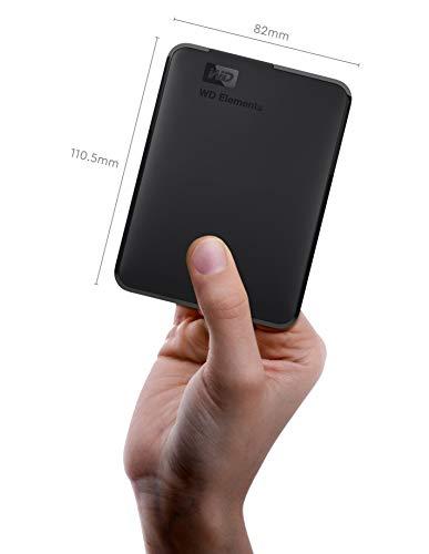 31liVmq2WXL - WD 4TB Elements Portable External Hard Drive - USB 3.0