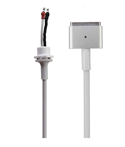Fugen DC Cable Cord (T Shape) for Apple Macbook Pro Air Retina Magsafe 2 Adapter Charger 45w 60w 85w (White)