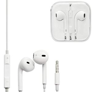Earphone Compatible with All Phone (White) by shopping hub