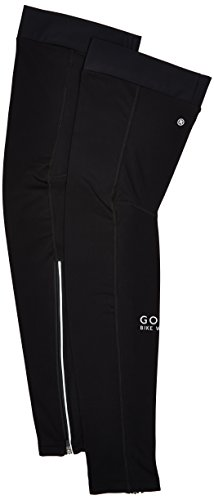 GORE BIKE WEAR Unisex Thermo Leg Warmers, Gore Selected Fabrics, UNIVERSAL Thermo Leg Warmers, Size: M-L, Black, ATUNLW