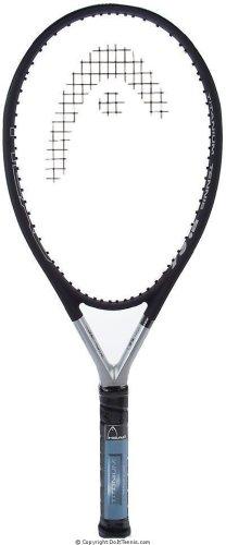 HEAD Ti S6 Tennis Racket Pre-Strung Head Heavy Balance 27.75 Inch Racquet - 4 5/8 In Grip