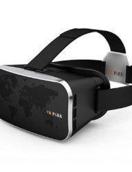 VR PARK-V3Virtual Reality 3D Video Glasses Headset - BLACK , black