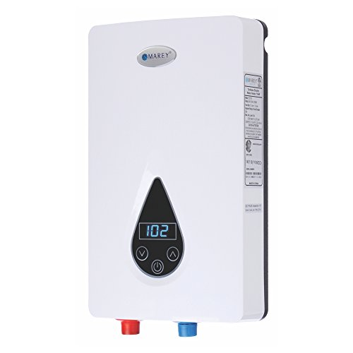 Marey ECO150 220V/240V-14.6kW Tankless Water Heater with Smart Technology,...