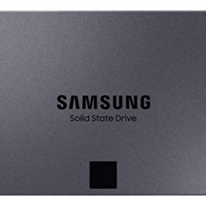 Samsung 860 QVO SSD 4TB – 2.5 Inch SATA 3 Internal Solid State Drive with V-NAND Technology (MZ-76Q4T0B/AM), Gray