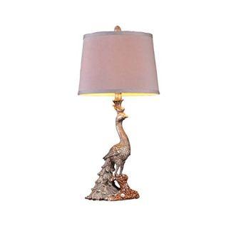 Zhang Yan ZYY/Retro Classic Peacock American Lamp Decorazione di Lusso Europeo – Lampade Stile Camera da Letto Lampada da Comodino Soggiorno Creativo Luci Senza fonte di Luce creatività nordica