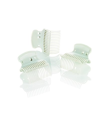 Conair Hot Roller Super Clips, White