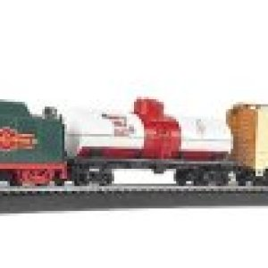 Bachmann Trains – Jingle Bell Express Ready To Run Electric Train Set – HO Scale 31opbFXUqjL