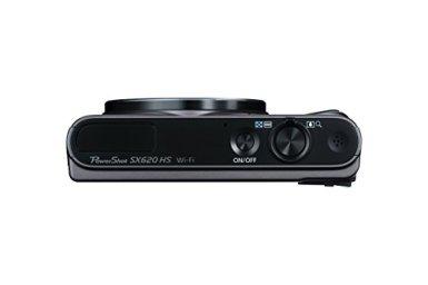 Canon-PowerShot-SX620-Digital-Camera-w25x-Optical-Zoom-Wi-Fi-NFC-Enabled-Black