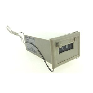 Mechanical Electromagnetic Counter with 2 White Wire 24V DC