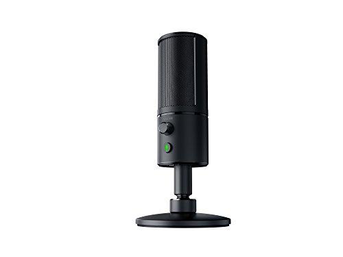 Razer Seiren X USB Streaming Microphone - [Professional Grade][Built-In Shock Mount][Supercardiod Pick-Up Pattern]