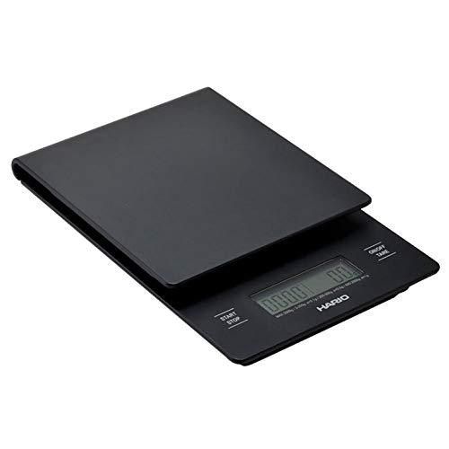 Hario VST-2000B V60 Drip Coffee Scale and Timer, Black