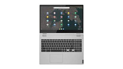 Lenovo-Chromebook-C340-2-in-1-Laptop-156-FHD-1920-X-1080-Touchscreen-Display-Intel-Pentium-Gold-4417U-Processor-4GB-DDR4-RAM-32GB-SSD-Chrome-OS-81T90003US-Mineral-Grey