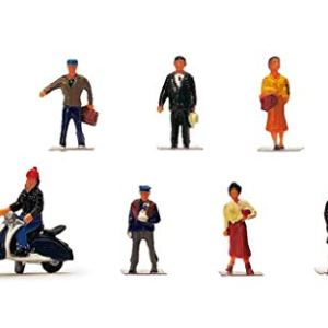 Hornby OO Gauge City People 1:76 Scale Miniature Figures for Model Train Layouts R7115 31pPlHR3GpL