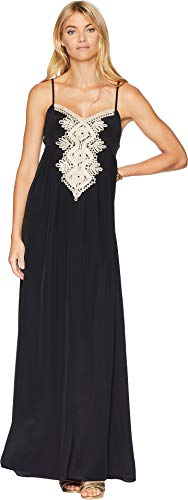 61PyMNP8z6L Lilly Pulitzer Size Guide   The Lilly Pulitzer® Kelsea sleeveless maxi in fluid silk crepe de chine is a wonderful dress to wear to a warm-weather special occasion.
