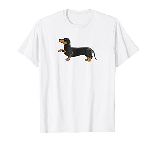 Dachshund T-Shirt Dog Wiener Tees for Dog lover Gift