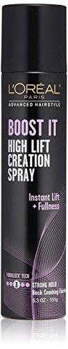 L'Oréal Paris Advanced Hairstyle BOOST IT High Lift Creation Spray, 5.3 oz.