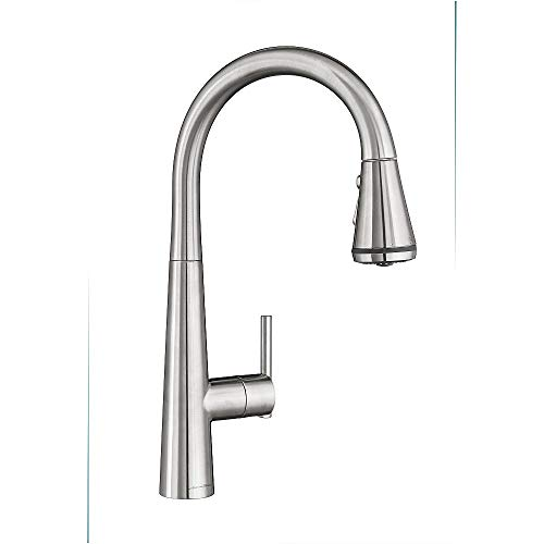 American Standard 4932300.075 Edgewater Pull-Down Kitchen Faucet with SelctFlo in Stainless Steel,