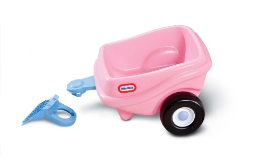Little Tikes Princess Cozy Coupe Trailer – (Amazon Exclusive)