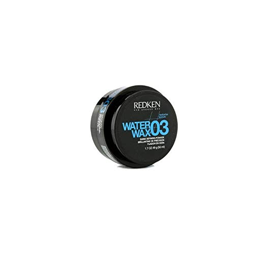 Redken 03 Water Wax Shine Defining Pomade, 1.7 oz