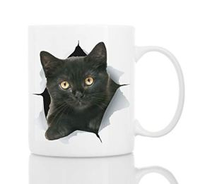 Funny-Black-Kitten-Coffee-Mug-Ceramic-Funny-Coffee-Mug-Perfect-Cat-Lover-Gift-Cute-Novelty-Coffee-Mug-Present-Great-Birthday-or-Christmas-Surprise-for-Friend-or-Coworker-Men-and-Women