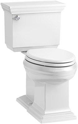 KOHLER K-6669-0 Memoirs Toilet, 31.4 x 28.2 x 20.1, White
