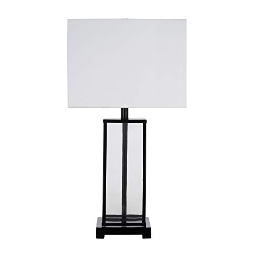Catalina-Lighting-22104-000-Industrial-Modern-Square-Textured-Clear-Glass-and-Black-Metal-Table-Lamp-29