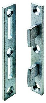 Wood Bed Rail Connecting Fittings, 4' Long, Set of 4