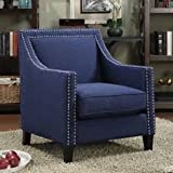 Home Living Room Rotterdam Armchair Blue By Dreamsales