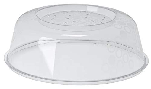 31rGtiYBnmL - Ikea Prickig Standard Transparent Microwave Lid Plate Cover with Air Vents for Perfect Reheating
