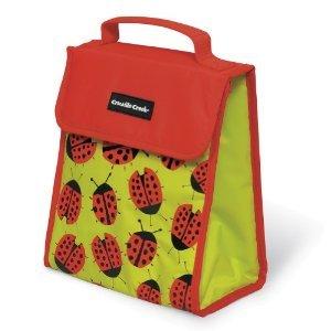 Crocodile Creek Ladybugs All Over Bib (Lunch Bag)