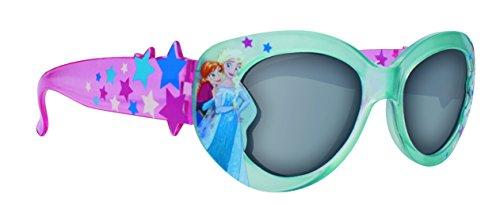 Disney Frozen Girl's Blue Plastic Sunglasses