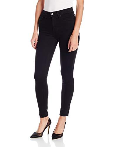 Levi's Women's 721 High Rise Skinny Jeans, Soft Black, 24 (US 00) S