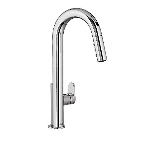 American Standard 4931380.002 Beale Single-Handle Pull Down Kitchen Faucet with Selectronic Hands-Free Technology in Polished Chrome