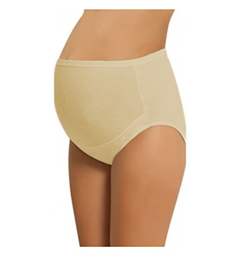 Women's Adjustable Maternity Panties High Cut Cotton Over Bump Underwear
