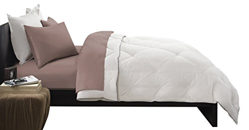 Pacific Coast Feather Company 67827 Premier Down Comforter, Cotton Cover, Hypoallergenic, King