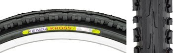 Kenda Kross Plus Front/Rear Slick XC Tire, 26 x 1.95', Set of 2