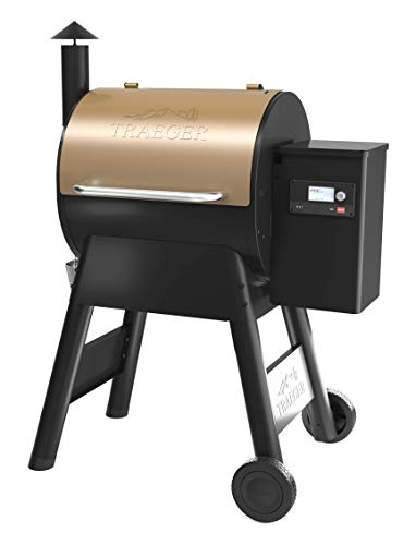 Traeger-TFB57GZEO-Pro-Series-575-Grill-Smoker-Bronze