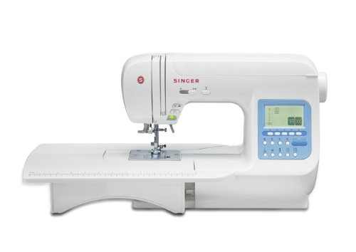 SINGER 9970 600-Stitch (1000+ Stitch Function) Computerized Sewing Machine with Extension Table, Bonus Accessories and Hard Cover