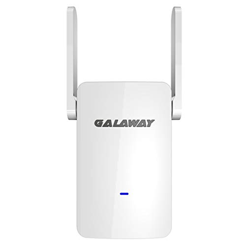 GALAWAY WiFi Extender, WiFi Range Extender, Internet Signal Booster Wireless Repeater 2.4GHz 5GHz Dual Band Up to 1200 Mbps 360 Degree Full Coverage
